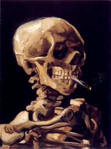 640px-Van_Gogh_-_Skull_with_a_burning_cigarette